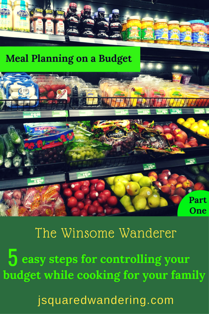 Meal planning budget. Meal Planning on a Budget Part 1
