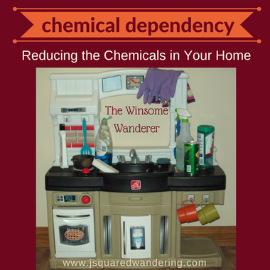 Chemical Dependency:  Reducing the Chemicals in Your Home