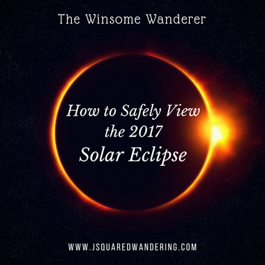 How to safely view the 2017 solar eclipse the winsome for What happens if you don t wear solar eclipse glasses