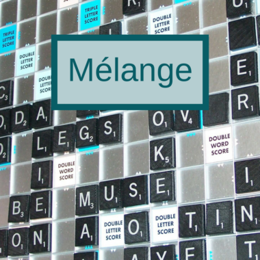Word of the Week: Mélange