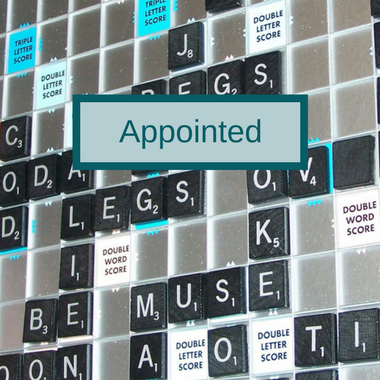 Word of the Week: Appointed