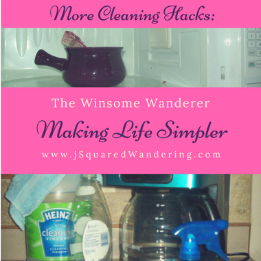 More cleaning hacks making life simpler -The Winsome Wanderer